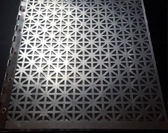 8.5x 11 aluminum screwpost portfolio book
