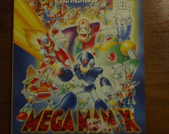 Megaman X vintage walkthrough manual
