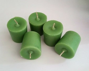 5 pack Votive Candles (Fairy Dust scent),soy wax paraffin wax blend,scented,self-trimming wick, relaxing scent,romantic