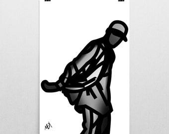 Streetwear Illustration Poster @pierrelaurent