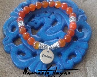 Bracelet agate peace, luck, dreams. Healing bracelets