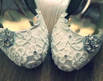 Lace Courts with embellishment