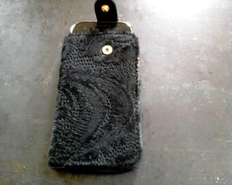 """Smartphone cover """"Lace look"""" ausgelasert fur"""