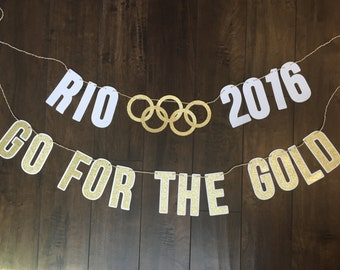 Rio 2016, Go For the Gold Banner