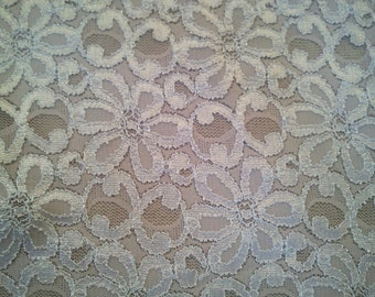 Rose Gold Shimmer Stretch Lace