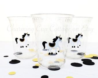 Unicorn Party Cups/Unicorn Theme Party/Unicorn Birthday Party/Unicon Party/Unicorn Party Favor/Unicorn Party Theme/Unicorn & Rainbows/Party