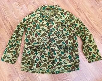 Vintage 70's Camouflage Shirt