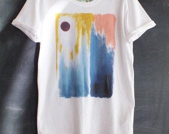 Mountain Print Ethical T-Shirt
