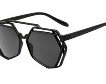 Stylish Cut Out Sunglasses