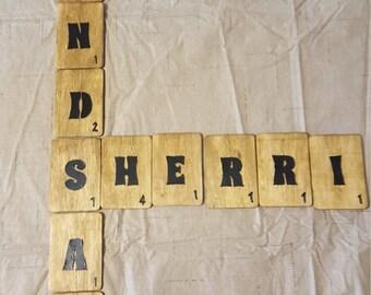 Scrabble Wall Decor!!