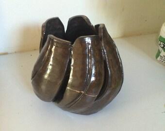 Handmade decor bowl