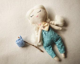 Handmade Cloth Doll/ Rag Doll