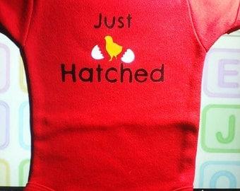 Just hatched onesie