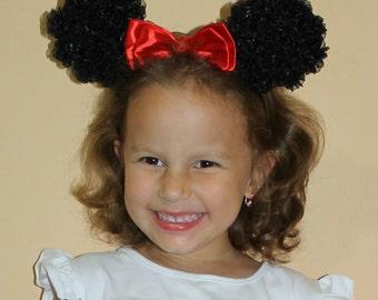 Тhe ears of mini mouse