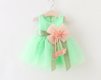 Baby girls party dress dance dress princess dress Free shipping in USA