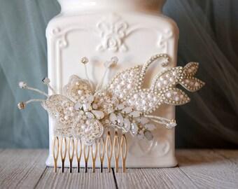 Bridal Haircomb, Nature inspired haircomb