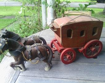 Vintage Wells Fargo Stagecoach