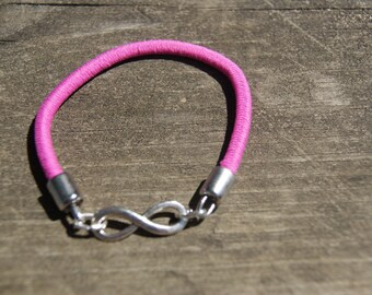 "Silver Stretch ""Infinity"" Bracelet"