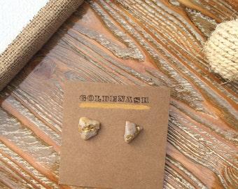 Rock earrings
