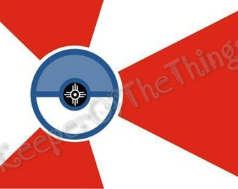 Wichita ICT Flag / Pokemon Go Sticker