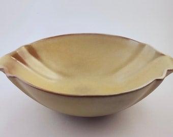 Frankoma Serving Bowl 201 Desert Gold