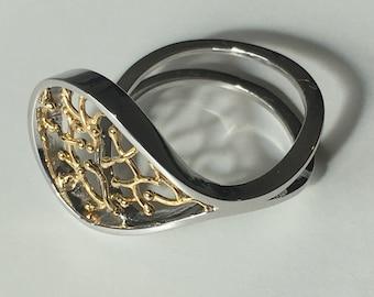 Beautiful 18k gold Ring