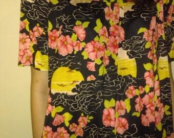 Hawaiian Style nightgown.