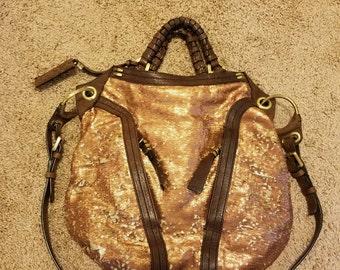 OR Yany Large Leather Satchel