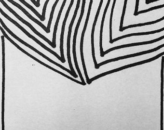 Half Leaves Print