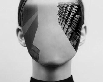 Architectural Portrait - Woman 2