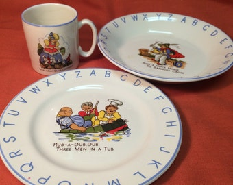 Lord Nelson Pottery Childs dishes