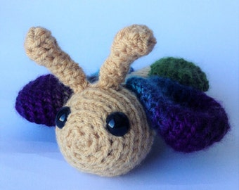 Crocheted animal Finny Butterfly