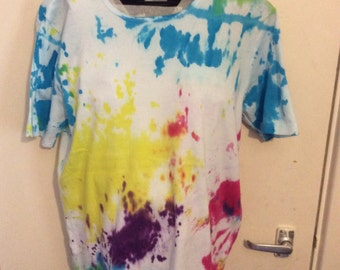 Hand dyed t-shirt Large