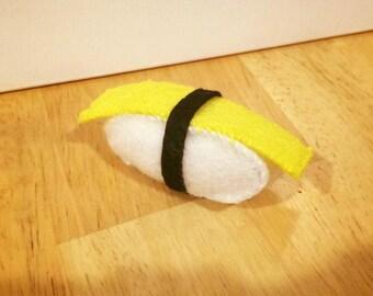 Sushi felt toy - Tamagoyaki