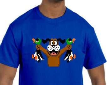 Duck Hunt T-Shirt NEW *Pick your color & size* (NES Nintendo Game, Super Mario)