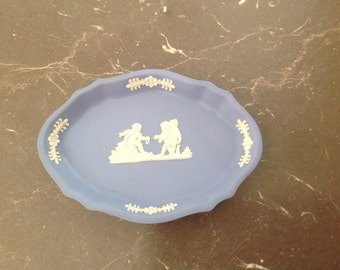 Wedgewood blue small dish