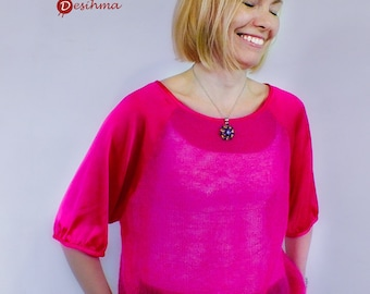 Silk and mohair blouse