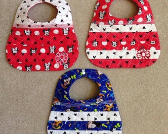 Quilted Baby Bibs