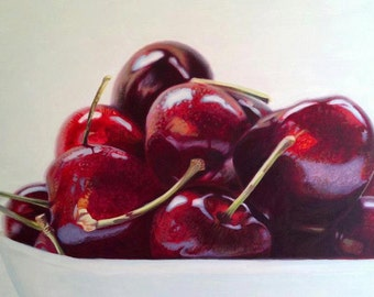 Cherry / Cherries, reproduction in lienzografias.