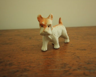 Ruff Tuff Vintage Bisque Dog Made in Japan