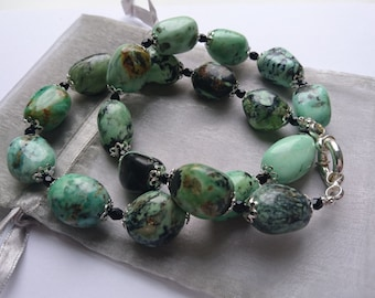 A gorgeous hand made statement necklace