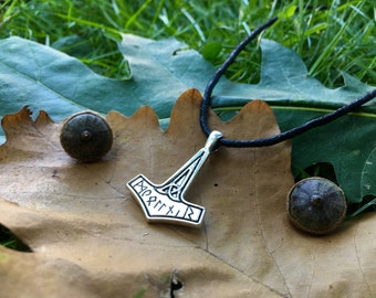 Mjolnir, Thor's Hammer Necklace