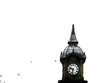 Clocktower - Color Print from original photo