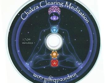 Chakra Clearing Guided Meditation CD