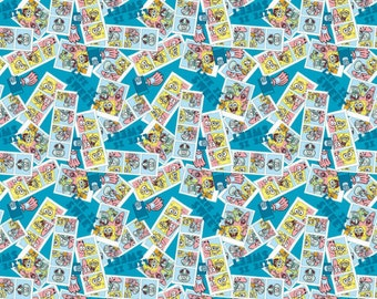 Spongebob and Patrick Photos Life is Sweet Fabric by Springs Creative