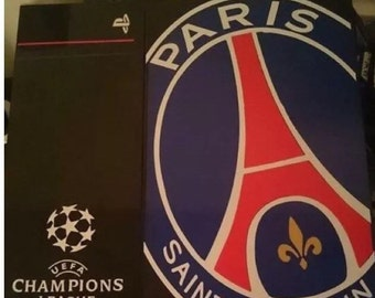 skin stickers psg paris saint germain console ps4