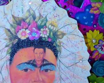 SUMMER SALE! Frida Kahlo shrine box.