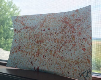 Red, Orange & Yellow Splatter