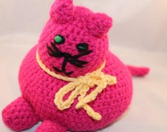 Crocheted Cat