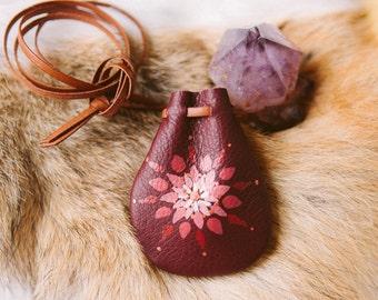 Root Chakra Mandala Talisman Pouch